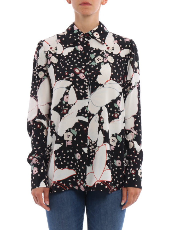 Valentino: Hemden online - Hemd - Gemustert