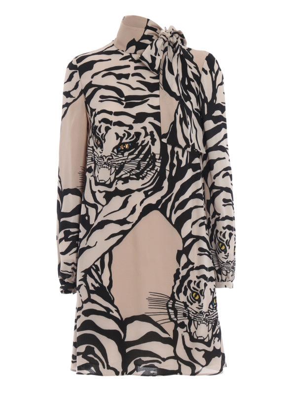 VALENTINO: Kurze Kleider - Kurzes Kleid - Gemustert