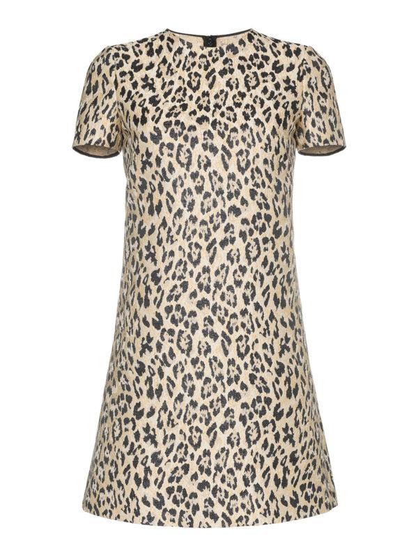 VALENTINO: Kurze Kleider - Kurzes Kleid - Gold