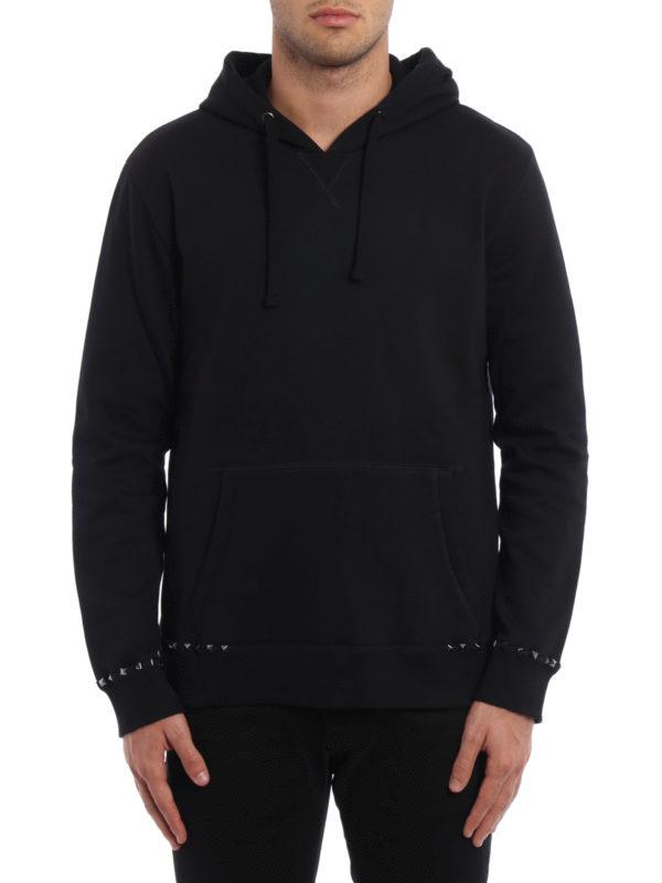 Valentino: Sweatshirts und Pullover online - Sweatshirt - Schwarz