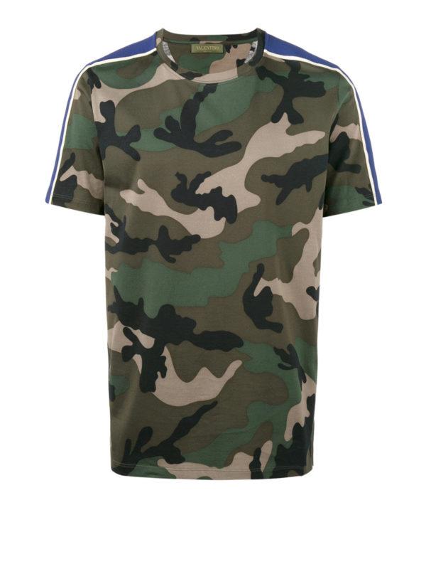 Valentino: T-shirts - T-Shirt - Grün