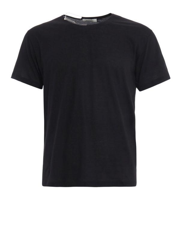 Valentino: T-shirts - T-Shirt - Einfarbig