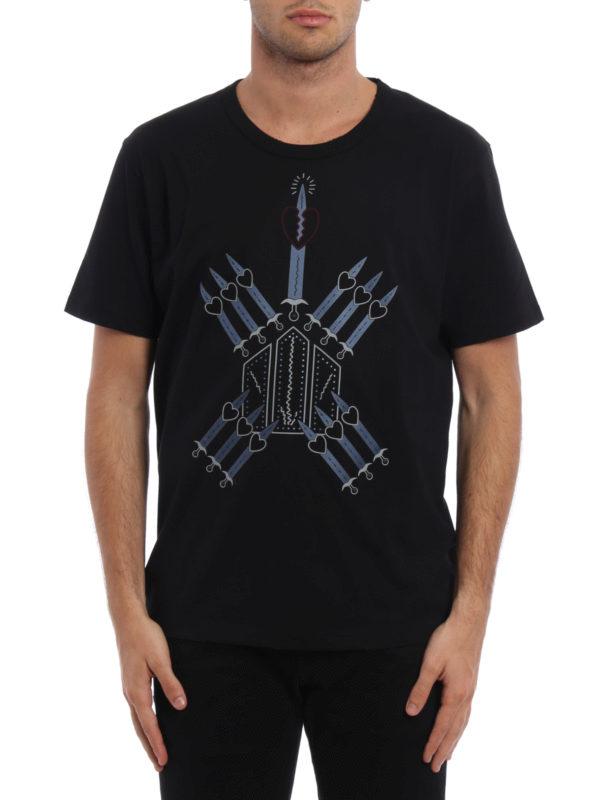 Valentino: T-shirts online - T-Shirt - Schwarz