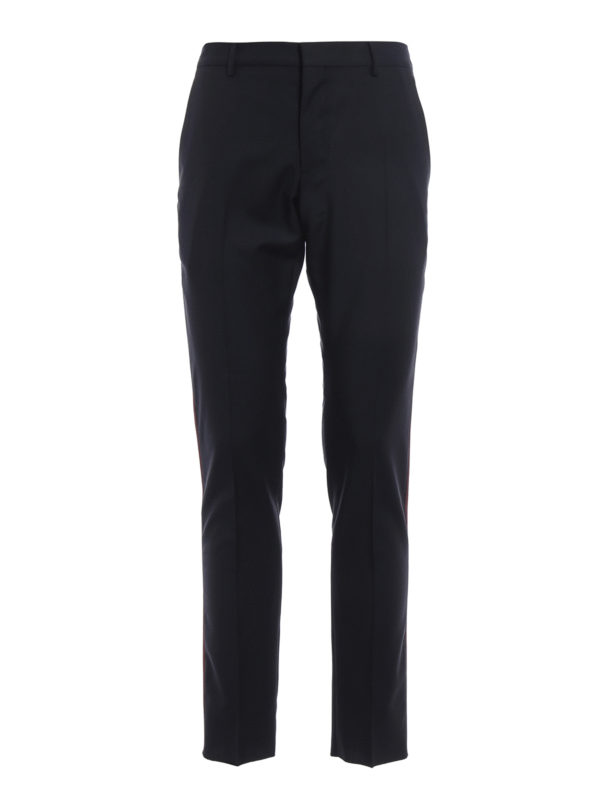 Valentino: Maßgeschneiderte und Formale Hosen - Formale Hose - Dunkelblau