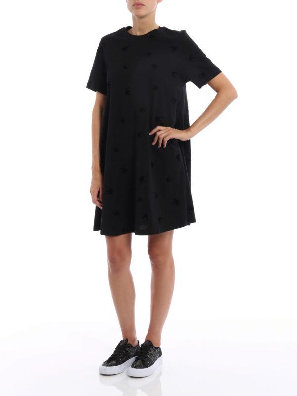 Kurzes Kleid - Schwarz shop online: Mcq