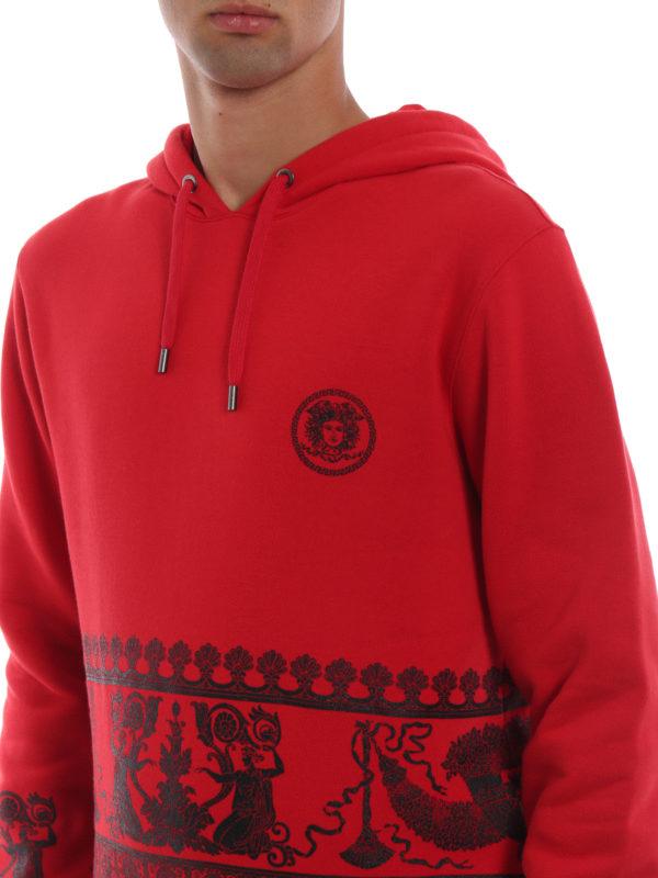 VERSACE buy online Sweatshirt - Rot