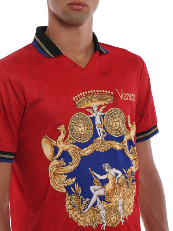 VERSACE buy online Poloshirt - Rot