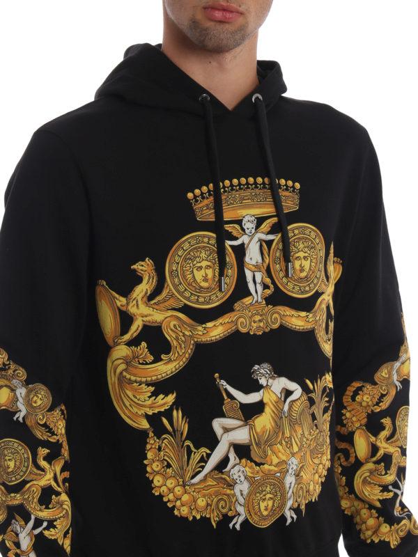VERSACE buy online Sweatshirt - Schwarz