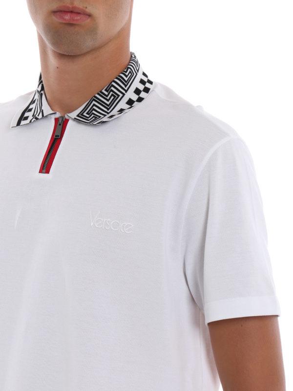 VERSACE buy online Poloshirt - Weiß