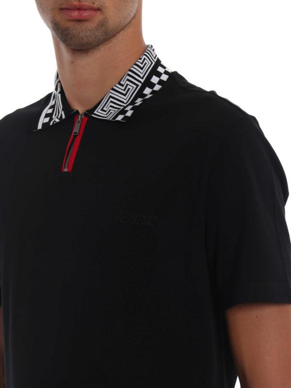 VERSACE buy online Poloshirt - Schwarz