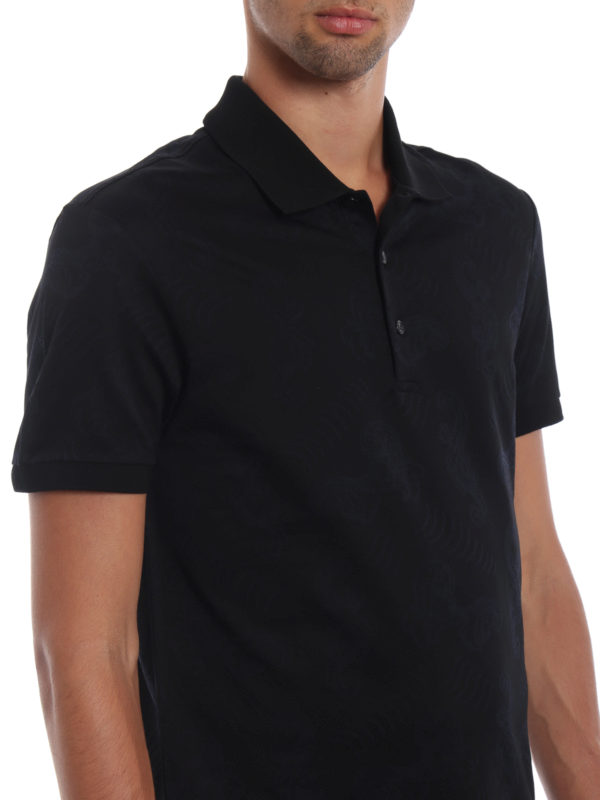 VERSACE COLLECTION buy online Poloshirt - Schwarz