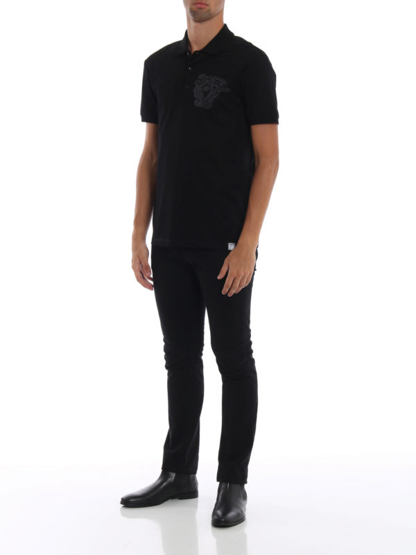 VERSACE COLLECTION: Poloshirts online - Poloshirt - Schwarz