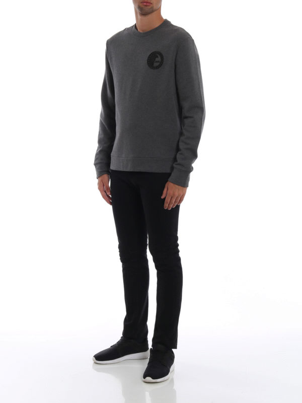 VERSACE COLLECTION: Sweatshirts und Pullover online - Sweatshirt - Dunkelgrau