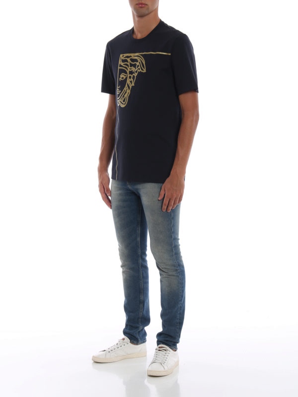 VERSACE COLLECTION: T-shirts online - T-Shirt - Dunkelblau
