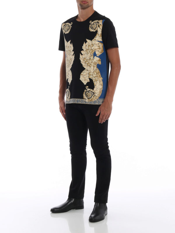 VERSACE COLLECTION: T-shirts online - T-Shirt - Gold