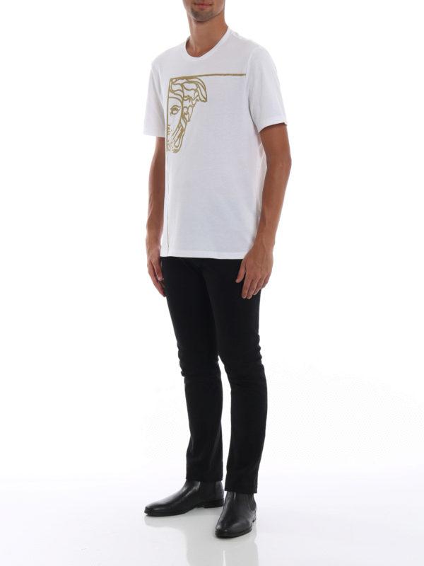 VERSACE COLLECTION: T-shirts online - T-Shirt - Weiß
