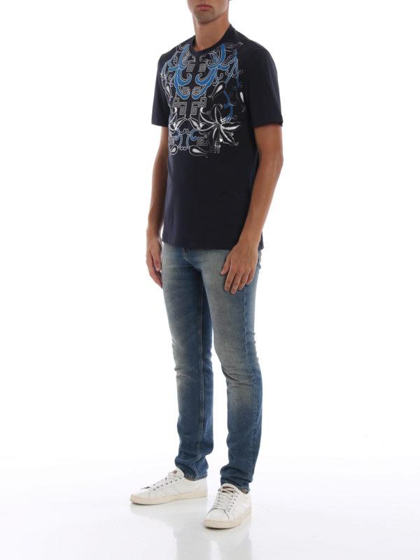 VERSACE COLLECTION: T-shirts online - T-Shirt - Dunkelblau