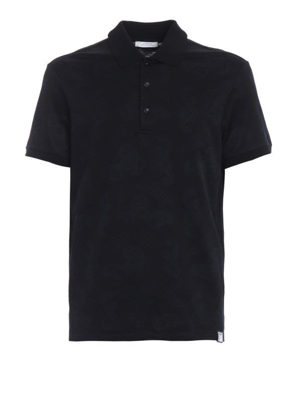 VERSACE COLLECTION: Poloshirts - Poloshirt - Schwarz