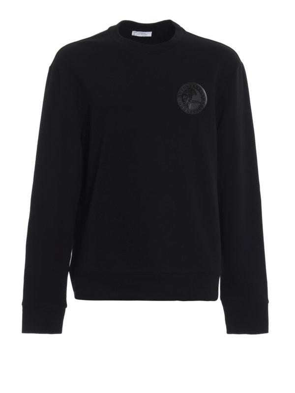VERSACE COLLECTION: Sweatshirts und Pullover - Sweatshirt - Schwarz