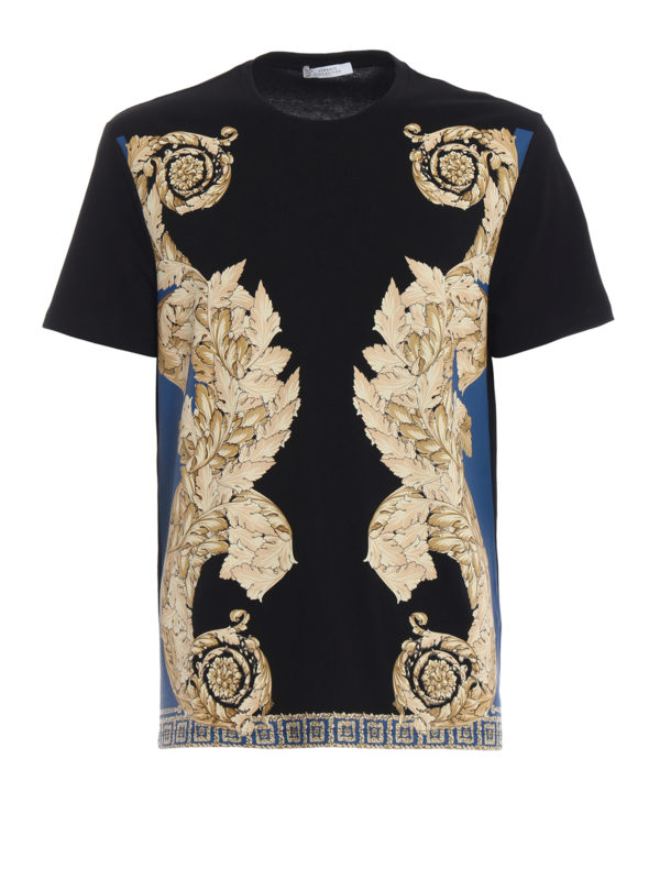 VERSACE COLLECTION: T-shirts - T-Shirt - Gold
