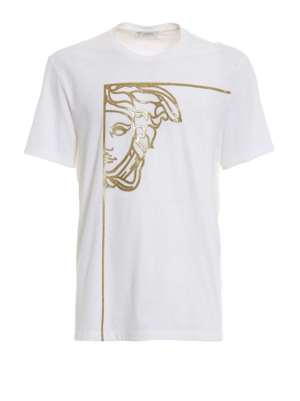 VERSACE COLLECTION: T-shirts - T-Shirt - Weiß