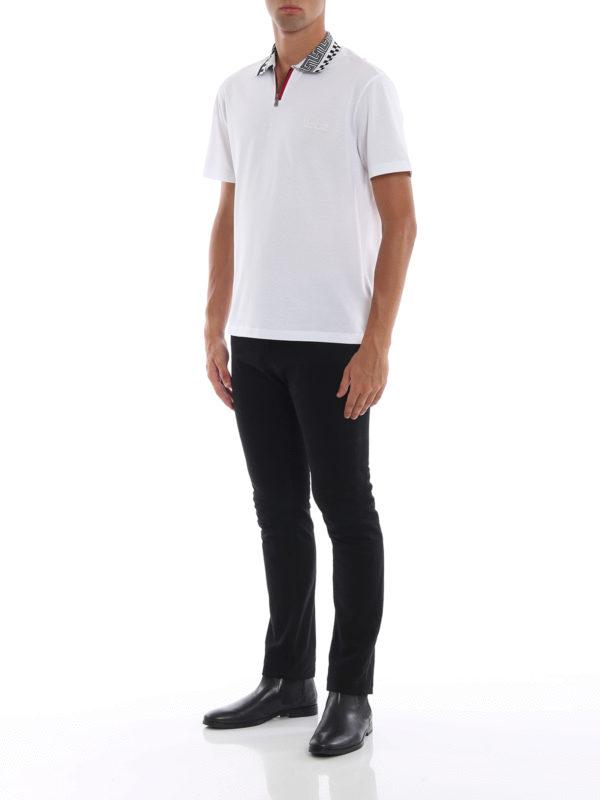 VERSACE: Poloshirts online - Poloshirt - Weiß