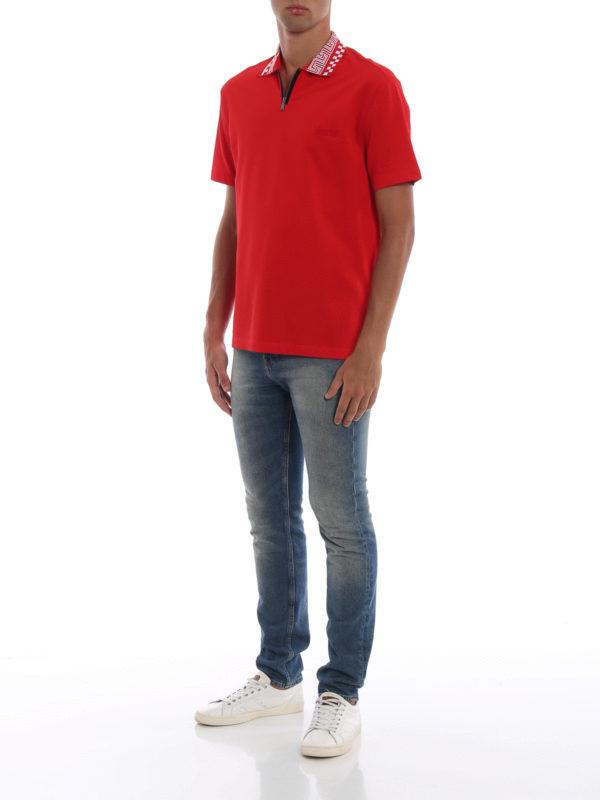 VERSACE: Poloshirts online - Poloshirt - Rot