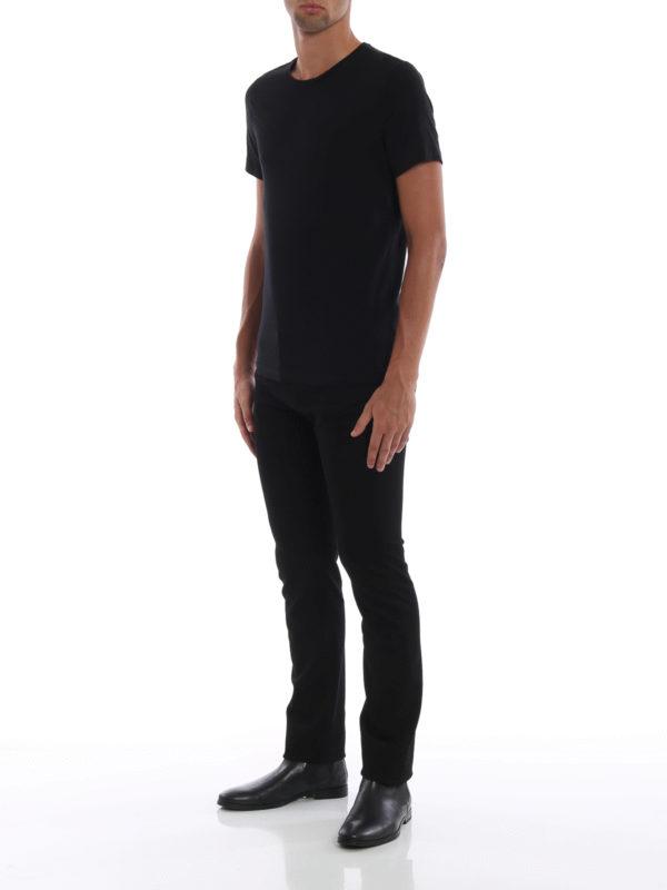 VERSACE: Straight Leg Jeans online - Straight Leg Jeans - Schwarz