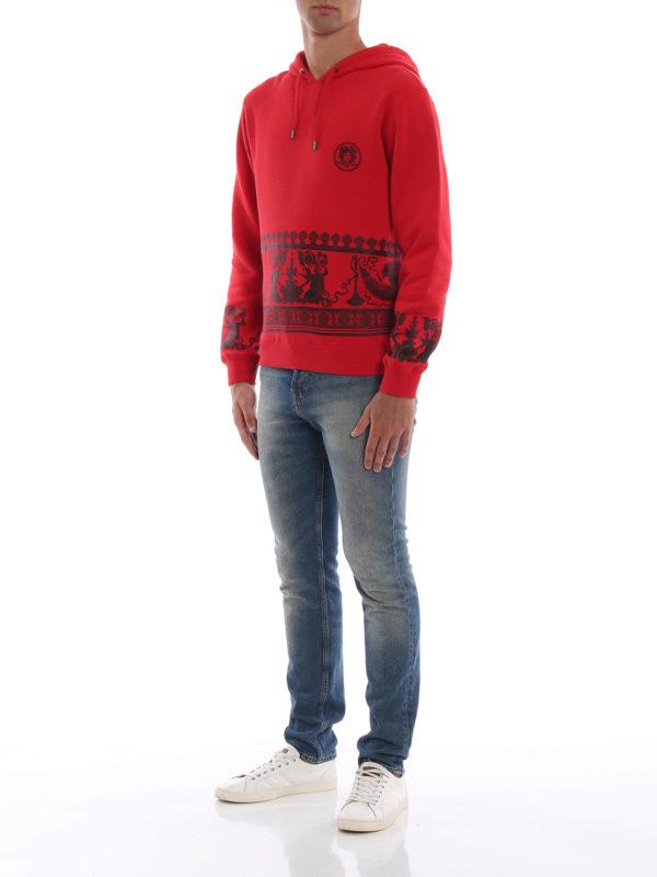 VERSACE: Sweatshirts und Pullover online - Sweatshirt - Rot