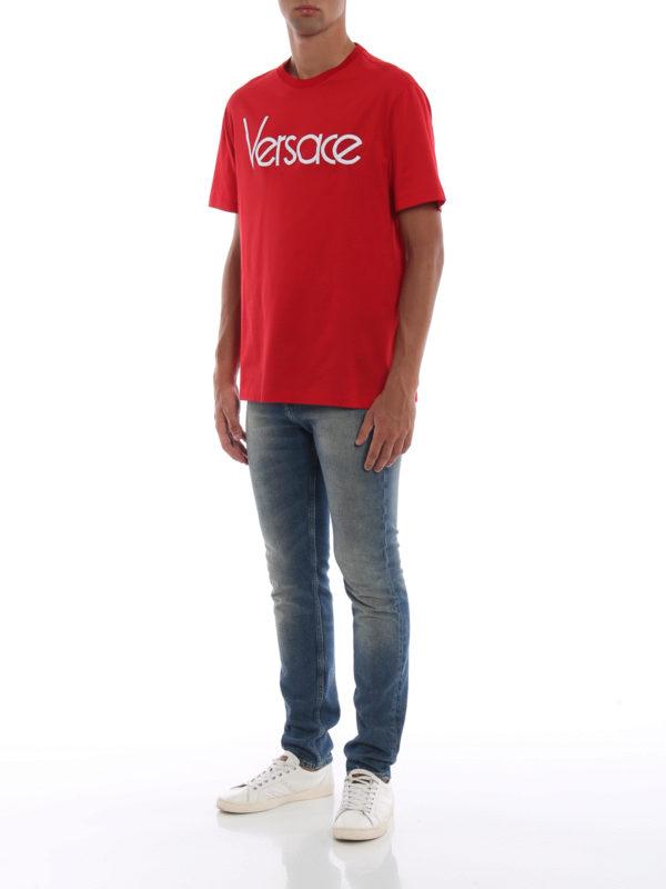 VERSACE: T-shirts online - T-Shirt - Rot