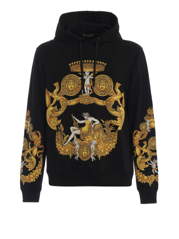 VERSACE: Sweatshirts und Pullover - Sweatshirt - Schwarz