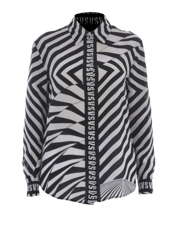 Versus Versace Hemd Fur Damen Schwarz Hemden BD20151