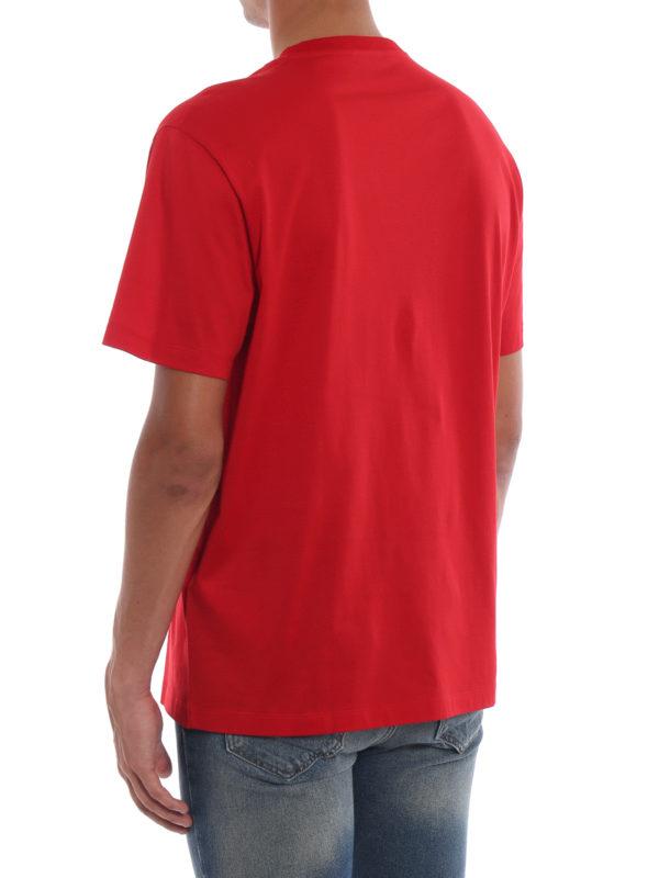 T-Shirt - Rot shop online: VERSACE