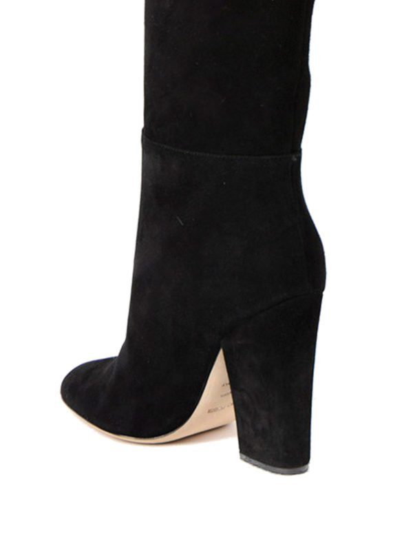Virginia over-the-knee suede boots shop online: Sergio Rossi