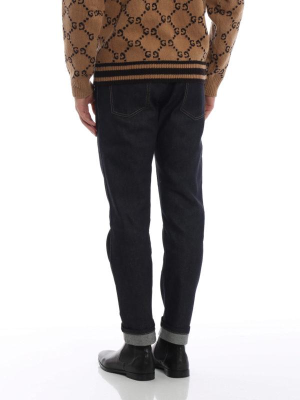 Skinny Jeans - Dunkelblau shop online: GUCCI