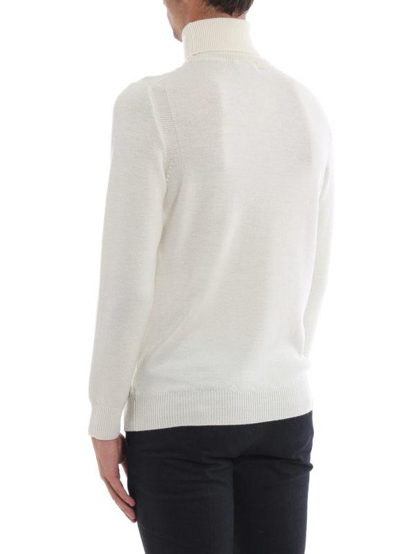 Rollkragenpullover - Weiß shop online: DONDUP