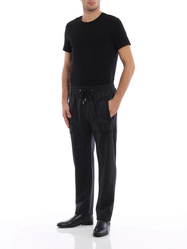 Casual Hosen - Dunkelgrau shop online: Givenchy