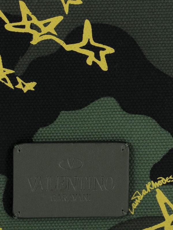 Zandra Rhodes messenger bag shop online: VALENTINO GARAVANI