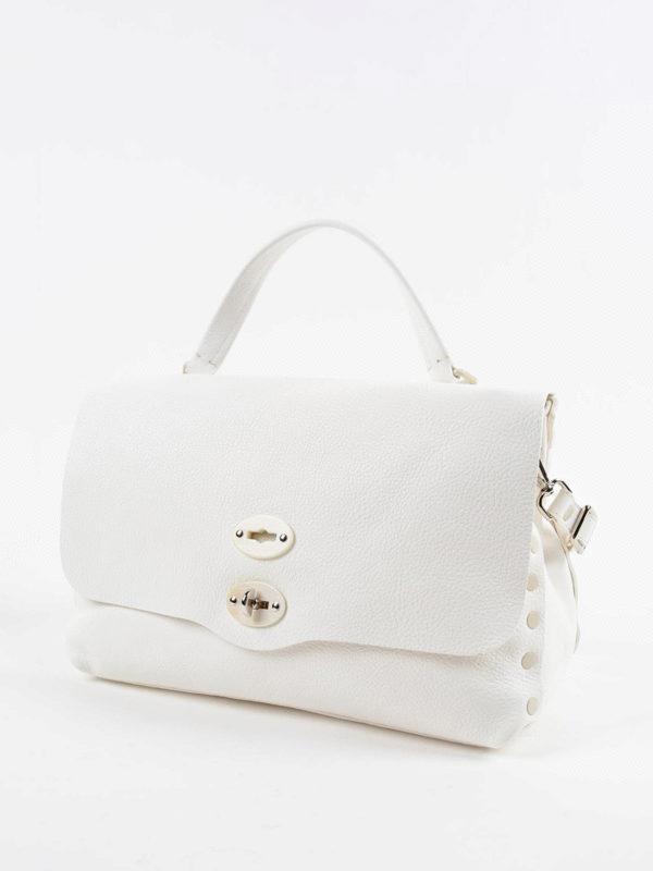 ZANELLATO: Handtaschen online - Shopper - Weiß
