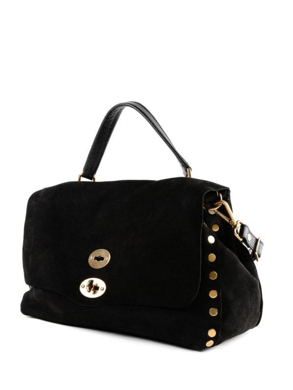 ZANELLATO: Handtaschen online - Shopper - Schwarz