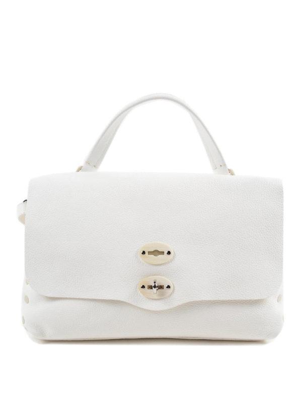 Zanellato: Handtaschen - Shopper - Weiß