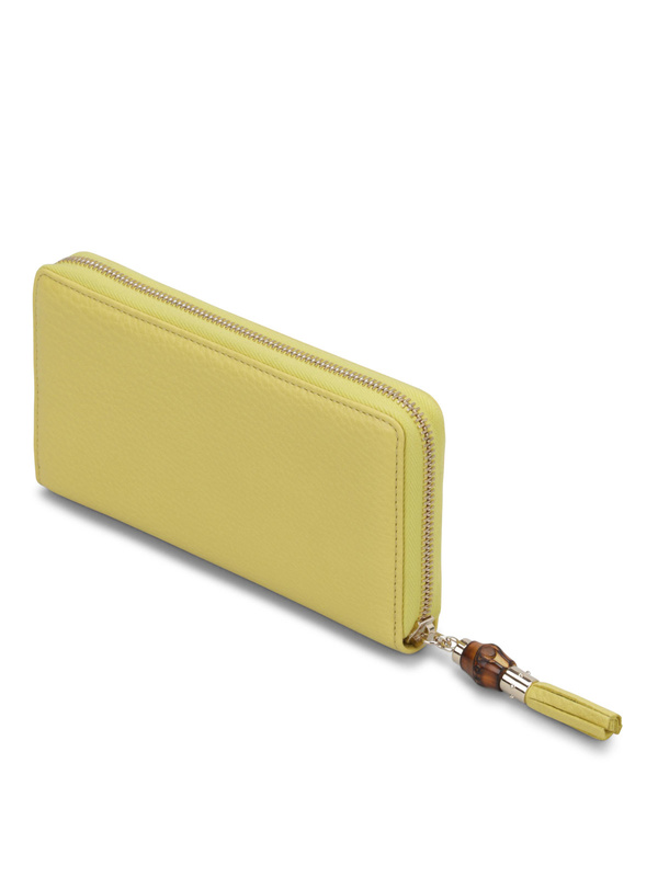 Zip around wallet with bamboo shop online: GUCCI