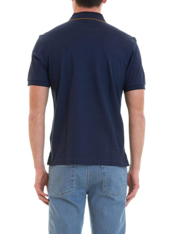 Poloshirt - Blau shop online: BRIONI