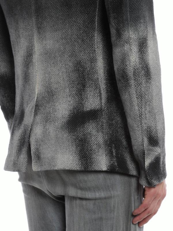 Zone cotton and linen blazer