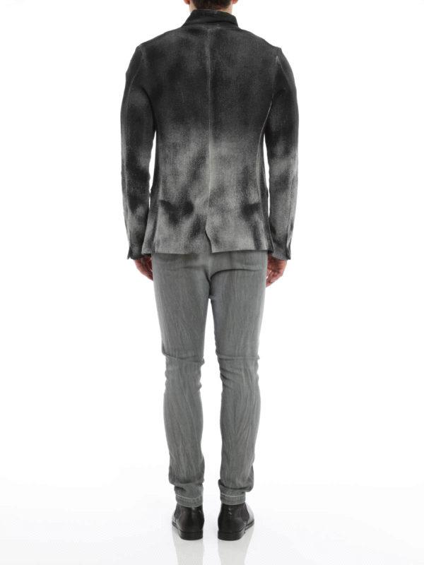 Zone cotton and linen blazer shop online: Avant Toi