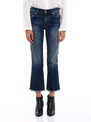 7 For All Mankind: bootcut jeans online - Cropped bootcut jeans