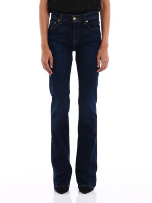 7 For All Mankind: bootcut jeans online - Stretch denim bootcut jeans