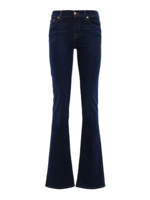 7 For All Mankind: bootcut jeans - Stretch denim bootcut jeans