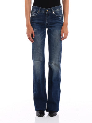 7 For All Mankind: flared jeans online - Charlize jeans