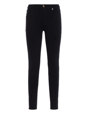 7 For All Mankind: skinny jeans - Super skinny high waisted jeans